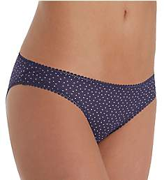 OnGossamer Mesh Dot Printed Hip Bikini Panty 023150N