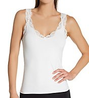 Only Hearts Delicious Scoop-Neck Tank with Lace 41840L