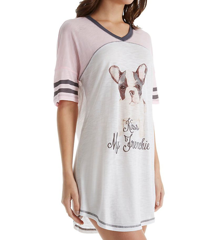 PJ Salvage City of Love Kiss My Frenchie Sleepshirt RBCLNS