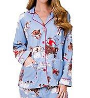 PJ Salvage Fantastic Flannels Bronco Pajama Set REBRPJ