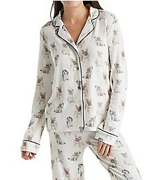PJ Salvage Dogs on Display Pajama Set REDDPJ