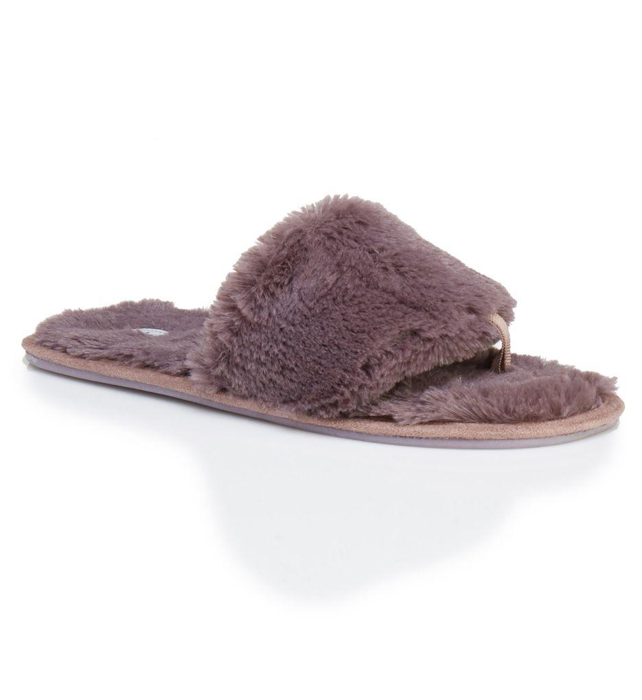 PJ Salvage Faux Fur Slides Slipper REFUSL1