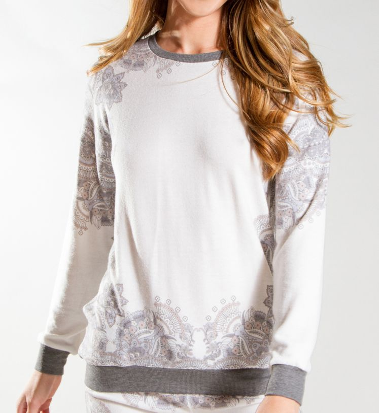PJ Salvage Neutral State Long Sleeve Top RENSLS1