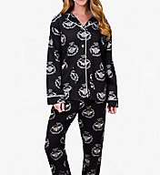 PJ Salvage Fantastic Flannels Queen Bee Pajama Set REQBPJ