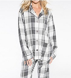 PJ Salvage Sleigh All Day Plaid PJ Set RFSAPJ