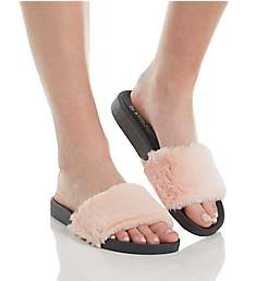PJ Salvage Faux Fur Slides Sandal RHFUSL2