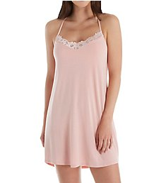 PJ Salvage Modal Basic Lace Chemise with Shelf Bra RIMOCE3