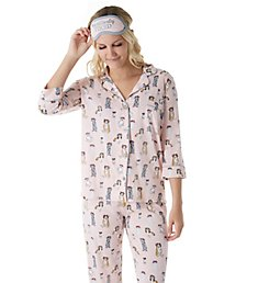 PJ Salvage Playful Prints Flower Crown Dog PJ Set RJPPPJ