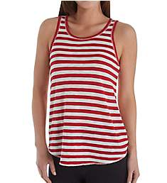 PJ Salvage 76 Vibes Striped Tank with Keyhole Back RJVITK1