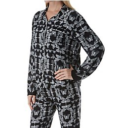 PJ Salvage Runway Abstract Butterfly Print PJ Set RNRWPJ