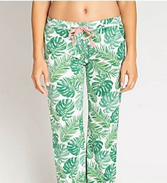 PJ Salvage Playful Prints Palm Tree Pant ROPPPP