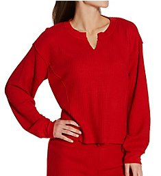 PJ Salvage Morning Waffles Knit Top RWMWLS1