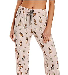 PJ Salvage Playful Prints Dog Love Pant RXPYPD