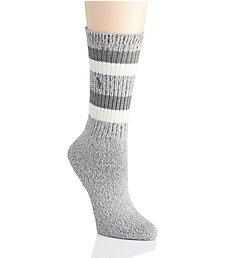 Polo Ralph Lauren Blue Label Marl Double Stripe Boot Sock 76008