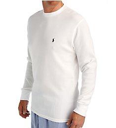 Polo Ralph Lauren Waffle-Knit Long Sleeve Crew Shirt P551