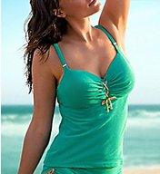 Prima Donna Jet Set Padded Tankini Swim Top 4001770