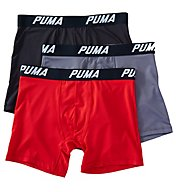 Puma Core Tech Performance Boxer Briefs - 3 Pack PMTBB
