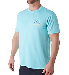 Quiksilver Heritage Heather Short Sleeve Rash Guard AQYWR3076