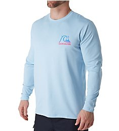Quiksilver Heritage Heather Long Sleeve Rash Guard AQYWR3078
