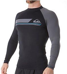 Quiksilver Active Long Sleeve Surf Shirt Rash Guard eqywr3072