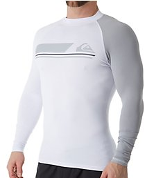 Quiksilver Active Long Sleeve Surf Shirt Rash Guard eqywr3072