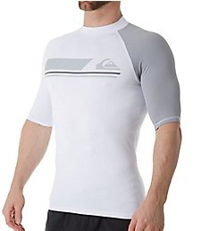 Quiksilver Active Short Sleeve Surf Shirt Rash Guard eqywr3073