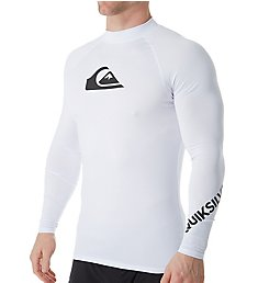 Quiksilver All Time Long Sleeve Rash Guard EQYWR3137