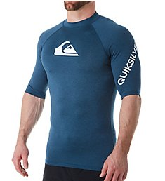 Quiksilver All Time Short Sleeve Rash Guard EQYWR3228