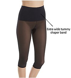 Rago Power Lites Shaping Wide Band Capri Pant Liner 9240