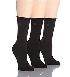 Ralph Lauren Tweed Cotton Trouser Socks - 3 Pair Pack 34004