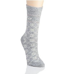 Ralph Lauren Polo Logo and Snowflake Boot Sock 76003