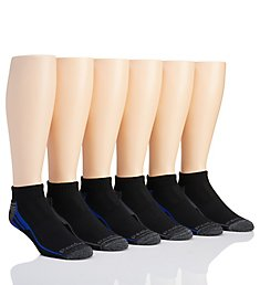 Reebok Arch Multi-Sport Quarter Socks - 6 Pack 181QT06