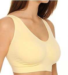 Rhonda Shear Ahh Seamless Leisure Bra with Removable Pads 92071