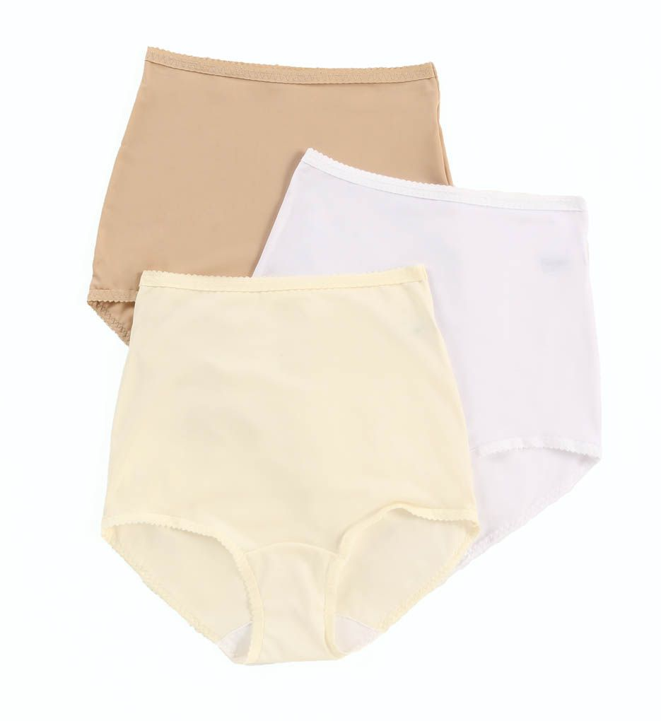 Shadowline Spandex Classics Brief Panty - 3 Pack 17005pk
