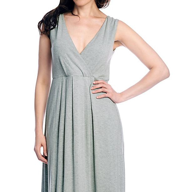 Shadowline Before Bed 53 Inch Pleated Dress 62224S