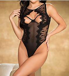 Shirley of Hollywood Open Cup Thong Teddy 31302
