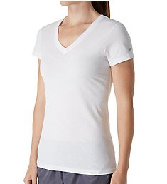 Soffe Juniors Short Sleeve V-Neck Tissue Tee 240V