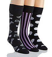 Stacy Adams Mr Style Combed Cotton Socks - 3 Pack S740HR-A