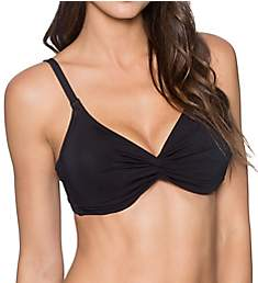 Sunsets Solid Olivia Tie Back Underwire Swim Top 53