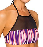 Swim Systems Radiance Elevate High Neck Halter Swim Top A611RAD