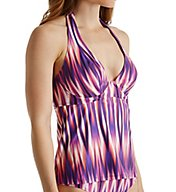 Swim Systems Radiance Halter Underwire Tankini Swim Top A790RAD