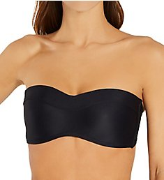 Swim Systems Black Bridget Bandeau Swim Top T525B