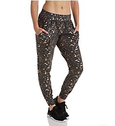 Terez Foil Printed French Terry Jogger 2222