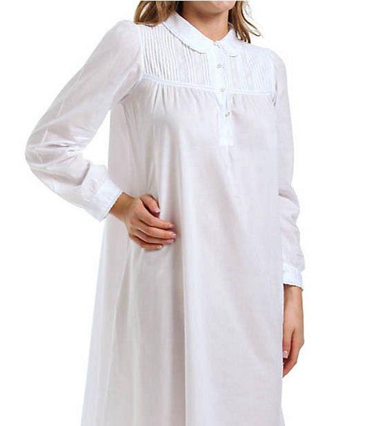 Thea Viridiana Long Sleeve Long Gown 7052