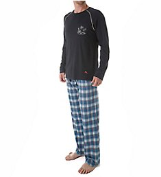 Tommy Bahama Cotton Modal Plaid Loungewear Set 2111212