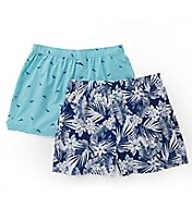 Tommy Bahama All Over Floral And Marlin Woven Boxers - 2 Pack 2151317