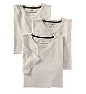 Tommy Bahama 100% Cotton Ribbed Crew Neck T-Shirts - 3 Pack 2161045
