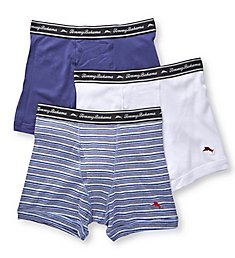 Tommy Bahama 100% Cotton Ribbed Boxer Briefs - 3 Pack 2171045