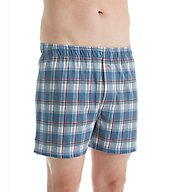 Tommy Bahama Shore Plaid Cotton Modal Boxer 2171212