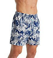Tommy Bahama Floral Leaves 100% Cotton Woven Boxer 2171315